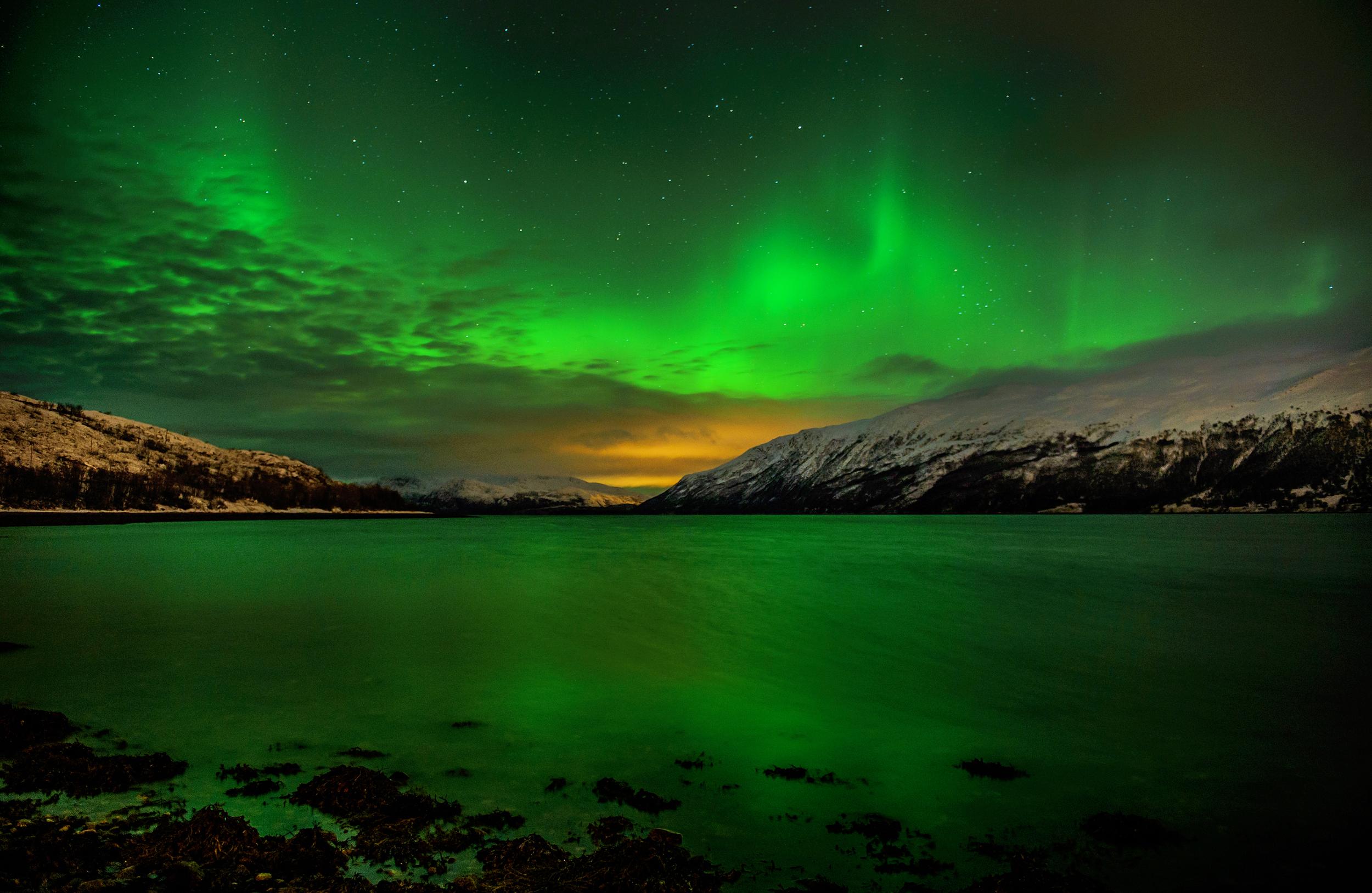 The Northern Lights - 37 Frames